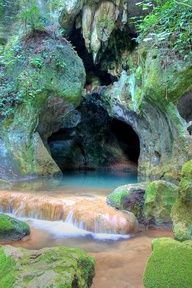 """Actun Tunichil Muknal (Cave of the Crystal Sepulchre), also known locally as """"Xibalba"""" or ATM, is a cave in Belize, near San Ignacio, Cayo District.  Go to www.YourTravelVideos.com or just click on photo for home videos and much more on sites like this."""