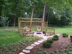 A simple garden structure for everyday enjoyment