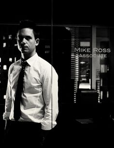 mike ross. #suits