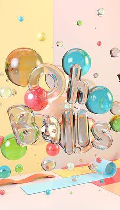 Designer's Guide to Create Typography Design - Types ♥ Fonts ♥ Lettering - Design Web Design, Graphic Design Trends, Graphic Design Inspiration, Layout Design, Design Ideas, 3d Poster, Poster Print, Poster Design, Print Print