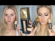 First Impression Review ♡ YSL Fusion Ink Foundation