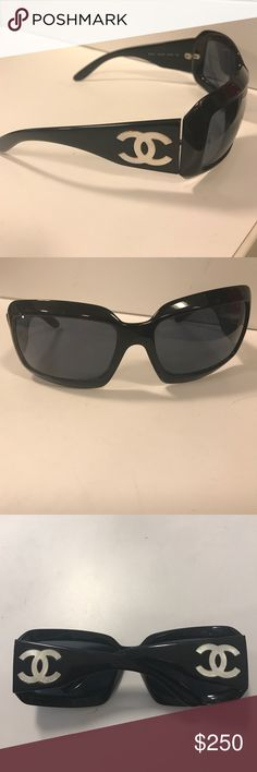 fe140a76e4 100% authentic Chanel sunglasses Originally purchased in Lens Crafters.  Comes with case