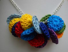 I LOVE discovering my own items pinned on Pinterest. ~Crochet with embroidery cotton by aquadshotyarnincville