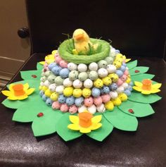 Handmade Easter Bonnet/Hat  Sitting Pretty