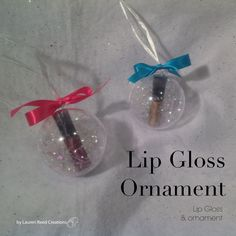 Lip Gloss Ornament $15 Contact me to get your today!!! Awelch8421@marykay.com Www.marykay.com/awelch8421 Call or text (409)656-8771