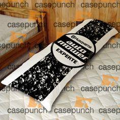 An5-husqvarna Motor Logo Body Pillow Case