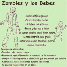 Bebés y zombies. Shares