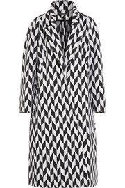 Vika GazinskayaOversized jacquard coat