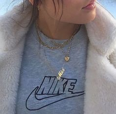 7 trendy Customized name necklace for summer 2019 Fashion Killa, Look Fashion, Womens Fashion, Fashion News, Mode Style, Style Me, Estilo Cool, Inspiration Mode, Street Style