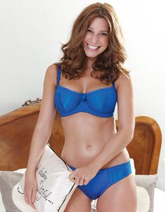 700b0ce2acb Demi Diva Bra by Bravissimo in Cobalt Blue. Available up to HH cup. £