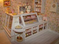 Inside of Roses For Me Tea Shop