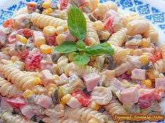 Chicken salad ღ Cookbook Recipes, Cooking Recipes, Think Food, The Kitchen Food Network, Salad Bar, Greek Recipes, Healthy Chicken Recipes, Food Network Recipes, Salad Recipes