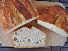 Nem vagyok mesterszakács: Kovászos fehérkenyér kovászolt természetes kovásszal - fázisfotókkal Bread Cake, Kenya, Banana Bread, Bakery, Desserts, Food, Breads, Products, Tailgate Desserts