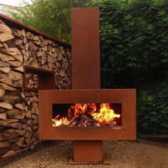ACHICA | Zeno Retta Solitaire Fireplace