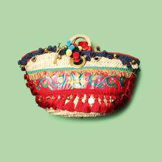 Le sac du week-end panier à pompons Dolce & Gabbana