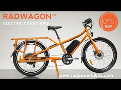 RadWagon electric cargo bike could be the ticket to low-car living : TreeHugger