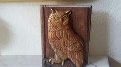 Owl Woodcarving