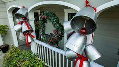 DIY Giant Holiday Bells