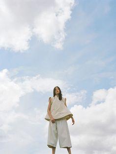 """""""Borderline"""". Yumi Lambert by Hart + Leshkina for Tank Fall 2014"""