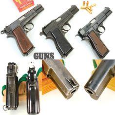 Browning Hi-Power Then & Now | Guns Magazine | Click here to read more: http://gunsmagazine.com/browning-hi-power-then-now/ | @browningarms | #gunsmagazine #browning #hipower