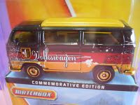 Dexters Diecasts (DexDC): Matchbox 2013 60th Anniversary Commemorative Edition ~ #16 Volkswagen T2 Bus