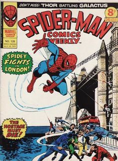 Spider-Man Comics Weekly #128, London