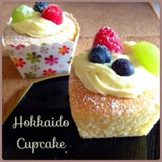 My Mind Patch: Hokkaido Cupcakes 烫面北海道杯子蛋糕