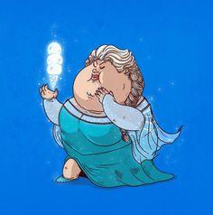 Chunky Elsa by Alex Solis