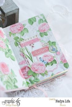 Click to see more pages of Nadya's Botanical Tea notebook #graphic45