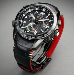 Seiko Astron Solar GPS Chronograph Limited Edition Styled By Giugiaro Design
