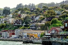 Spellbinding Sausalito: An Easy San Francisco Day Trip: Sausalito Waterfront