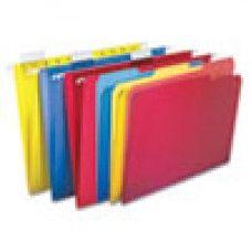 Desk Supplies>Desk Set / Conference Room Set>Holders> Files & Letter holders: Combo Kit Hanging File Folders, 1/3 Tab, Letter, Assorted, 12 Sets/Box