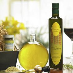 Combine Don Vito's Gold Italian Blend Herb Mix with our premium first press Italian extra virgin olive oil in the included decorative bottle for a delicious dipping oil for bread, veggies, or salad.  Mix as much or as little herb mix to find your perfect flavor....  Set includes Avanti Savoia's 2013 Limited Edition bottle with top, chrome weighted pour spout, black and silver premium gift box, extra virgin olive oil, and Italian herb mix. $34.50
