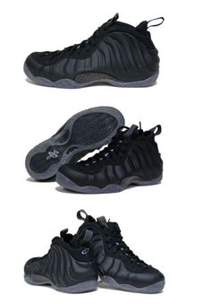 Nike Foamposite Stealth- ugly shoe that looks kinda dope in black.