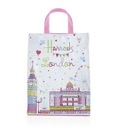 Confetti Shopper Bag-Harrods