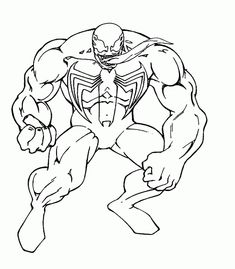 Venom Spiderman Coloring Pages Images | Coloring Pages For Kids