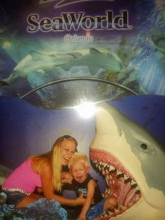 Lifelong fear of sharks.