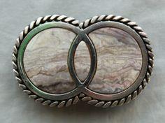 Rodeo buckles vintage belt