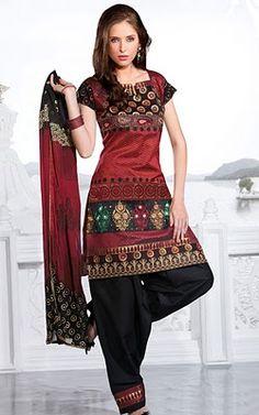 salwar kameez same print as my never worn cotton sari
