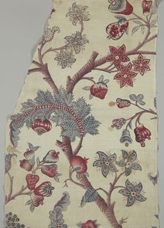 Chintz Fragments (India), late 18th century