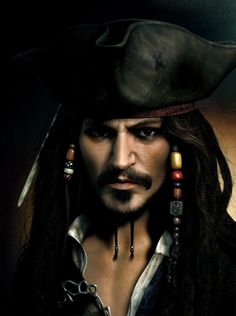 Jack Sparrow by Jeremy Roberts