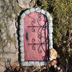 Fairy Door Red - $7.99