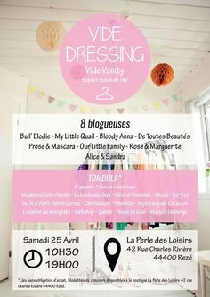 affiche vide dressing mode accessoires v tements. Black Bedroom Furniture Sets. Home Design Ideas