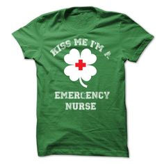 Kiss Me I'm A Emergency Nurse T-Shirt