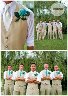 Groomsmen // Wedding Photos // Boutonniere // Santa Rosa Beach Wedding // Bentley's on the Bay // Destination Wedding // Kate's Captures Photography