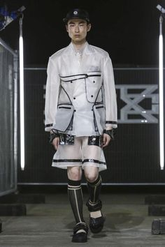 KTZ Menswear Spring Summer 2016 London - NOWFASHION