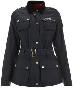 Ladies Barbour International Union Jack Swarovski Jacket Womens 2013 New Online Sale,Barbour factory shop