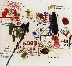 o Be Titled, 1987, Jean-Michel Basquiat