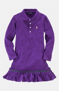 Ralph Lauren Polo Dress (Toddler) available at #Nordstrom