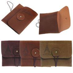 CONEED Creative Retro Paris Tower Memory Coin Purse Storage Bag Holder Drop Shipping Happy Sale ap630 #Affiliate